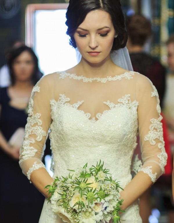 Draga noastra mireasa Daniela, eleganta si fermecatoare in rochia Bella Sposa