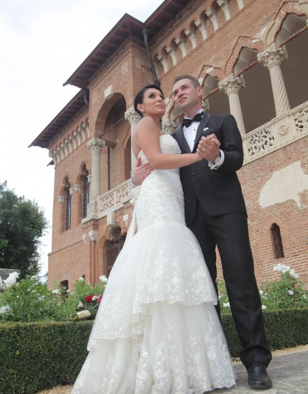 Gabriela si rochia de mireasa 5122 de la Eden Bridals