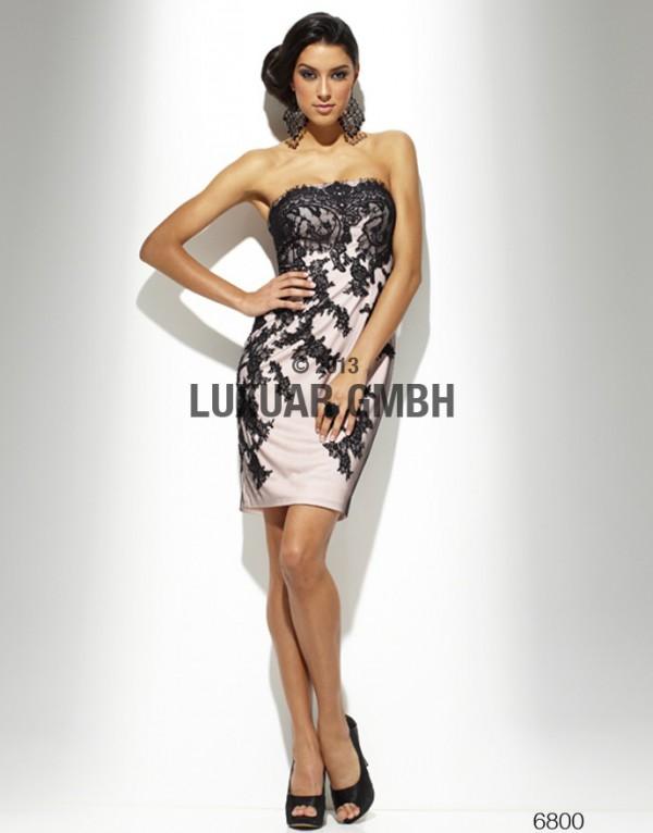 Rochie de seara scurta din dantela, Luxuar, 6800, 166 euro