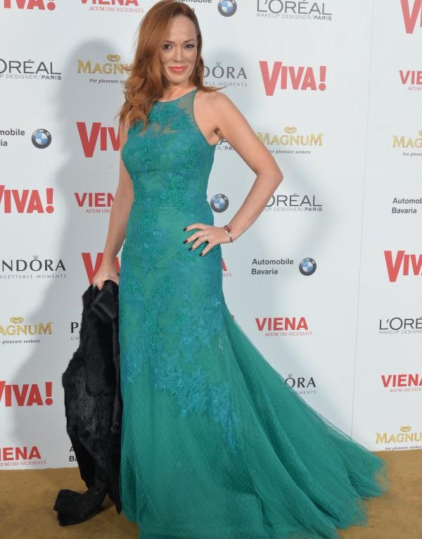 Florentina Fantanaru  la petrecerea aniversara Viva