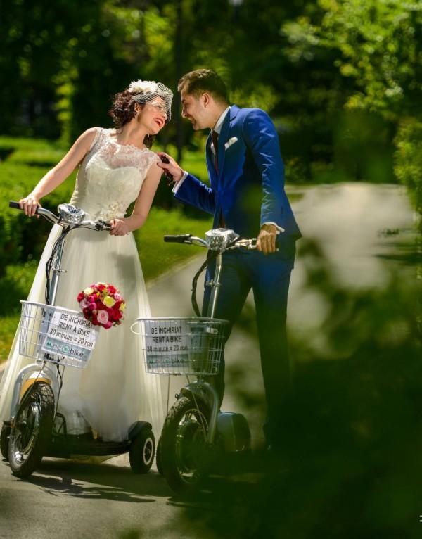 Aura, nunta de poveste