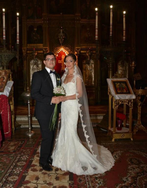 Ioana, o aparitie eleganta si senzuala in rochia de mireasa Bella Sposa