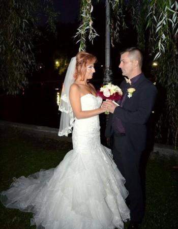 Alina, senzuala si eleganta in rochia de mireasa Bella Sposa