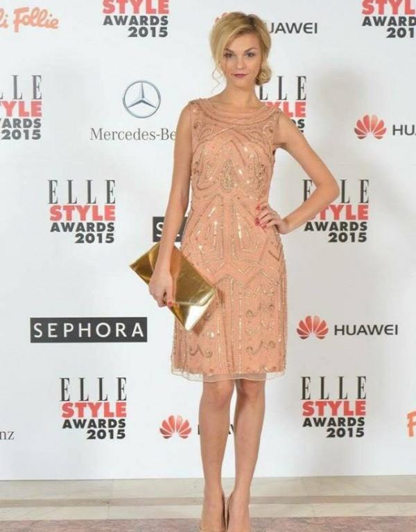 Actrita Madalina Anea la petrecerea ELLE Style Awards