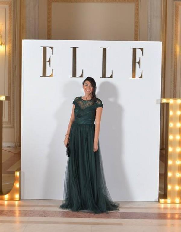 Cantareata Maria Andreea Varlan la petrecerea ELLE Style Awords 2015