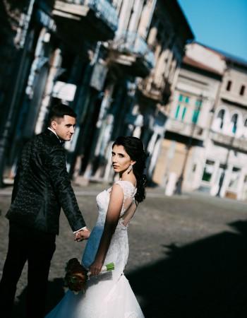 Andreea, mireasa noastra frumoasa intr-o rochie speciala