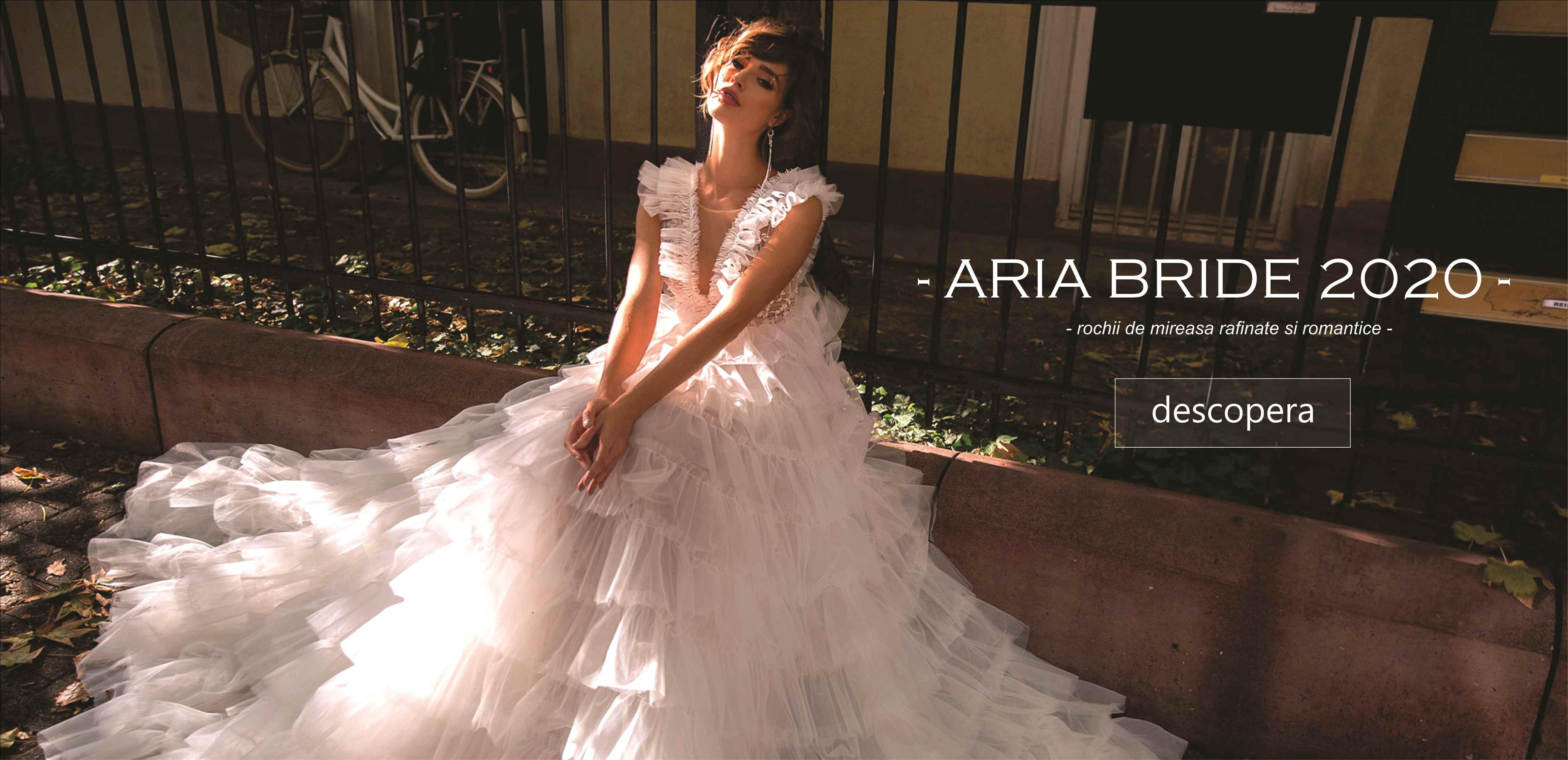 Rochii de mireasa Aria Bride 2020 by Bella Sposa